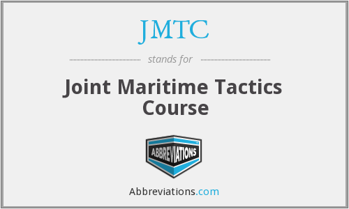 JMTC - Joint Maritime Tactics Course