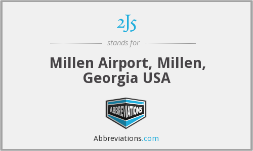 2J5 - Millen Airport, Millen, Georgia USA
