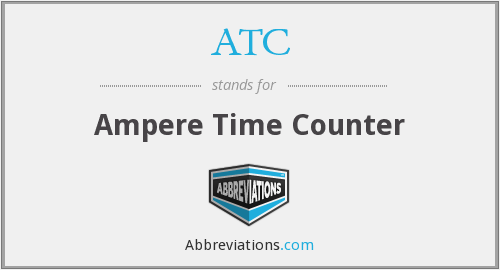 ATC - Ampere Time Counter
