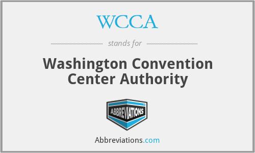 WCCA - Washington Convention Center Authority