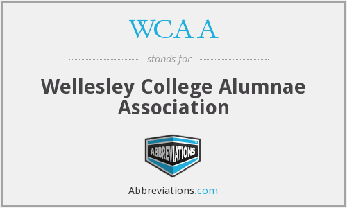WCAA - Wellesley College Alumnae Association