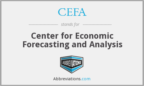 CEFA - Center for Economic Forecasting and Analysis