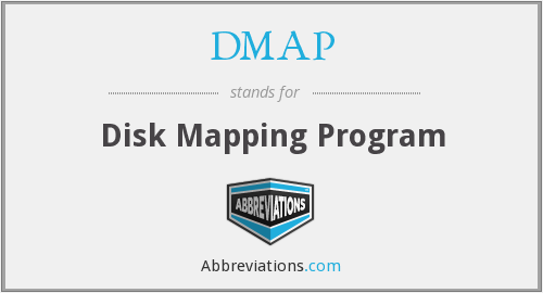DMAP - Disk Mapping Program