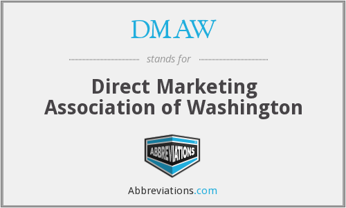 DMAW - Direct Marketing Association of Washington