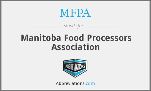 MFPA - Manitoba Food Processors Association