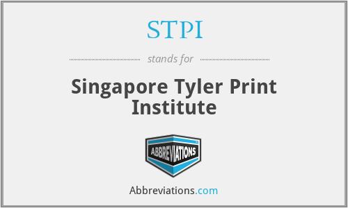 STPI - Singapore Tyler Print Institute