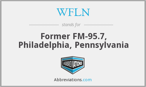 What does WFLN stand for?