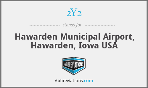 2Y2 - Hawarden Municipal Airport, Hawarden, Iowa USA