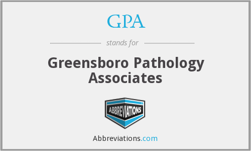 GPA - Greensboro Pathology Associates