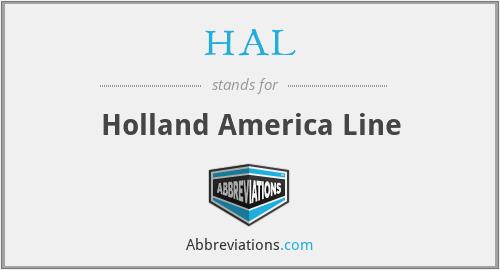 HAL - Holland America Line