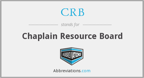 CRB - Chaplain Resource Board