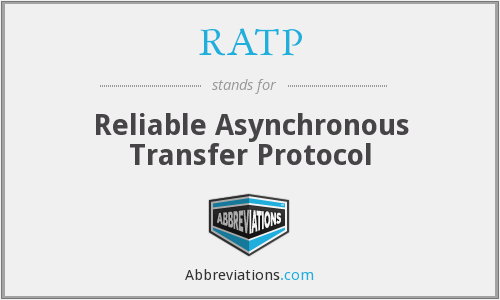 RATP - Reliable Asynchronous Transfer Protocol