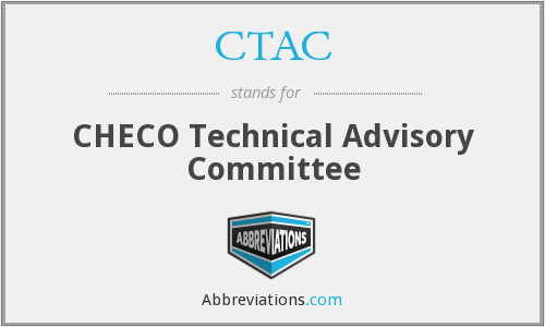 CTAC - CHECO Technical Advisory Committee