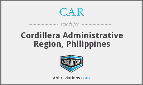 CAR - Cordillera Administrative Region, Philippines
