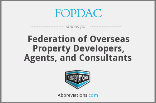 What does FOPDAC stand for?