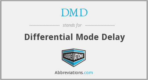 DMD - Differential Mode Delay