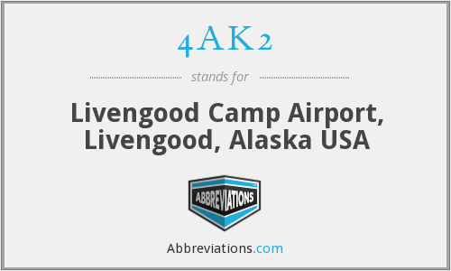4AK2 - Livengood Camp Airport, Livengood, Alaska USA
