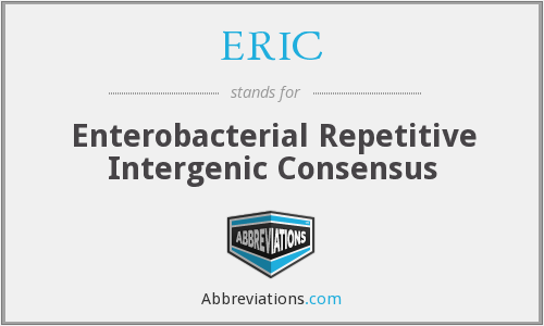 ERIC - Enterobacterial Repetitive Intergenic Consensus