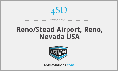 4SD - Reno/Stead Airport, Reno, Nevada USA