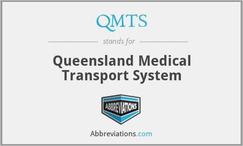 QMTS - Queensland Medical Transport System