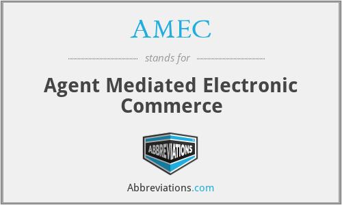 AMEC - Agent Mediated Electronic Commerce