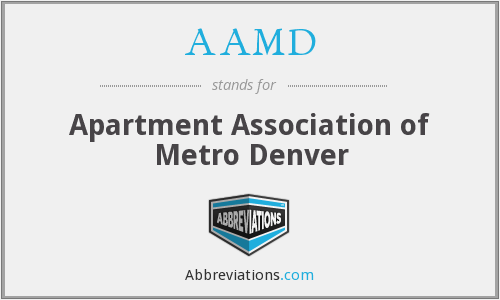 AAMD - Apartment Association of Metro Denver