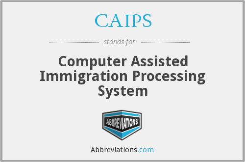 What does CAIPS stand for?