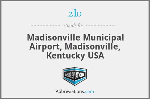 2I0 - Madisonville Municipal Airport, Madisonville, Kentucky USA
