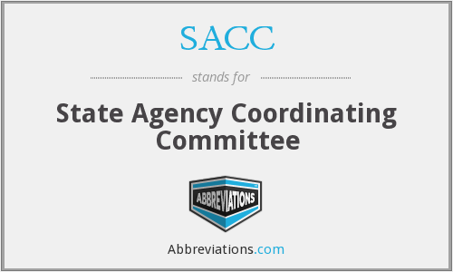 SACC - State Agency Coordinating Committee