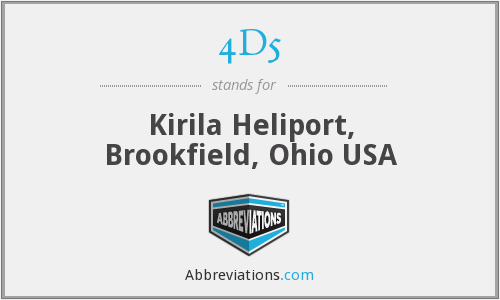4D5 - Kirila Heliport, Brookfield, Ohio USA