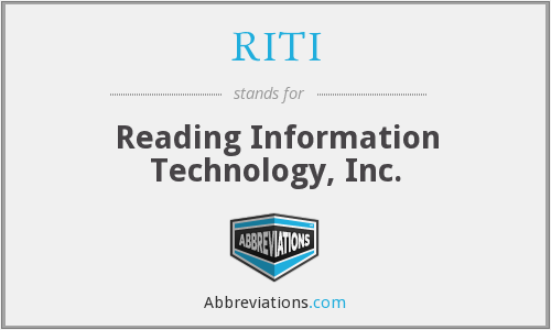 RITI - Reading Information Technology, Inc.