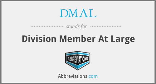DMAL - Division Member At Large