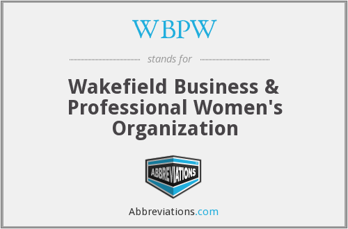 What does WBPW stand for?