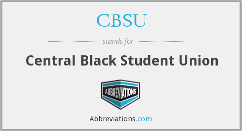 What does CBSU stand for?