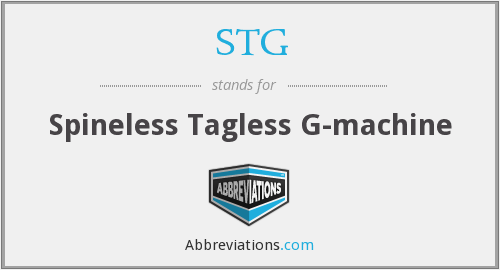 STG - Spineless Tagless G-machine