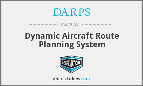 DARPS - Dynamic Aircraft Route Planning System