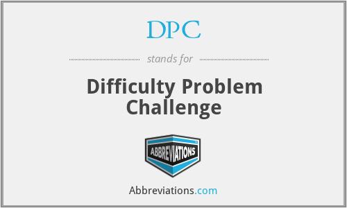 DPC - Difficulty Problem Challenge