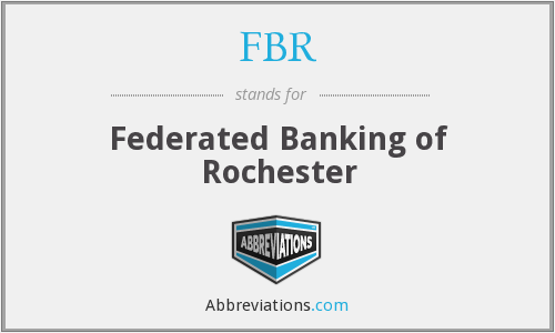 FBR - Federated Banking of Rochester