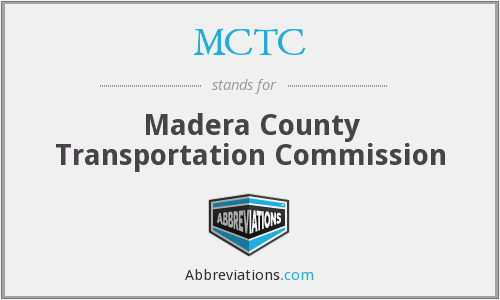 What does MCTC stand for?