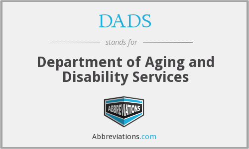 DADS - Department of Aging and Disability Services