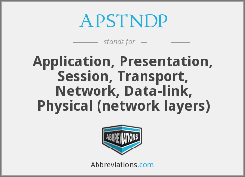 What does APSTNDP stand for?
