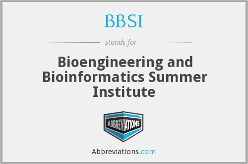What does Bioengineering stand for?