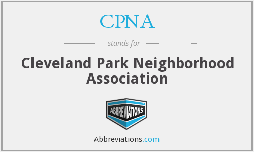CPNA - Cleveland Park Neighborhood Association