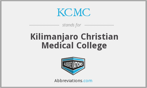 KCMC - Kilimanjaro Christian Medical College