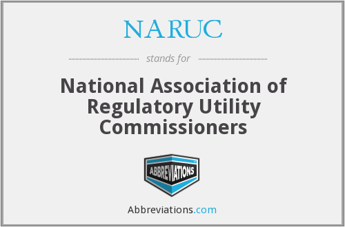 What does NARUC stand for?