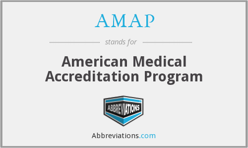 AMAP - American Medical Accreditation Program