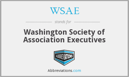 WSAE - Washington Society of Association Executives