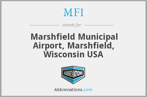 MFI - Marshfield Municipal Airport, Marshfield, Wisconsin USA