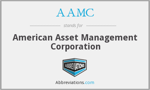 AAMC - American Asset Management Corporation