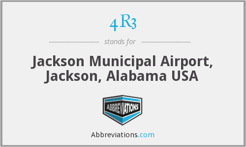 4R3 - Jackson Municipal Airport, Jackson, Alabama USA